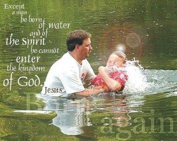 baptisim in the river